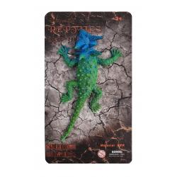 Figurina elastica Soparla Dragon cu coarne