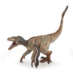 Figurina Papo Velociraptor cu pene