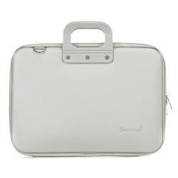 Geanta lux business laptop 15,6 Bombata Classic-Gri