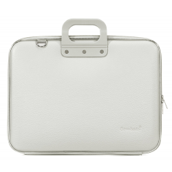 Geanta lux business laptop 17 Bombata Maxi Classic-Gri
