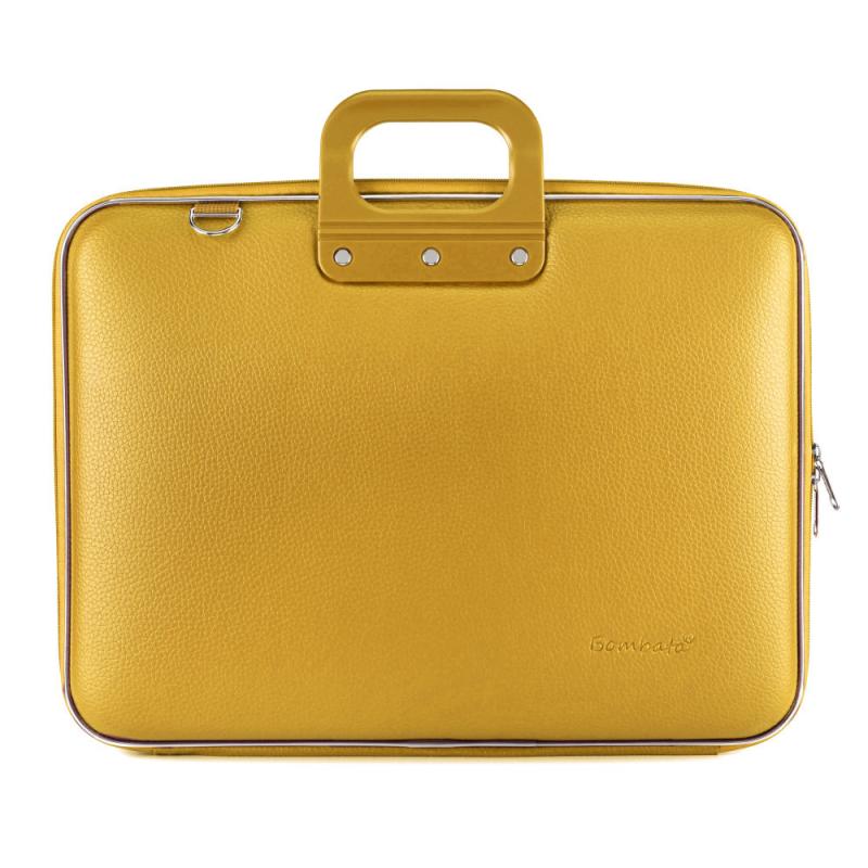 Geanta lux business laptop 17 Bombata Maxi Classic-Sofran