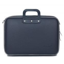 Geanta lux laptop 15,6 Bombata Business Classic-Bleumarin