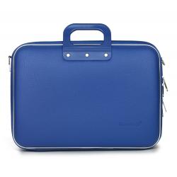 Geanta lux laptop 15,6 Bombata Business Classic-Albastru cobalt