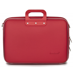 Geanta lux laptop 15,6 Bombata Business Classic-Rosu