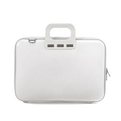 Geanta lux business laptop 15,6 Bombata Evolution-Alb