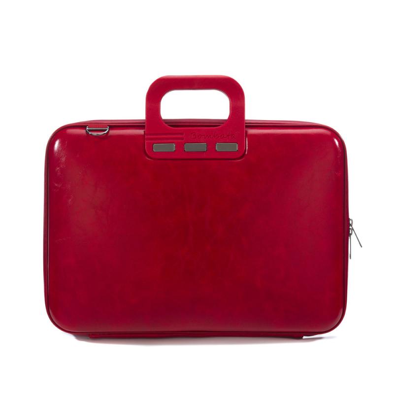 Geanta lux business laptop 15,6 Bombata Evolution-Rosu