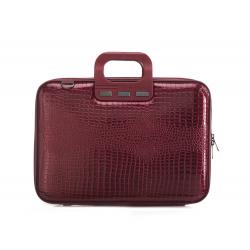 Geanta lux business laptop 15,6 Bombata Shiny Cocco-Grena