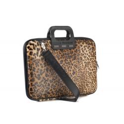 Geanta lux business laptop 15.6 Bombata Leopard