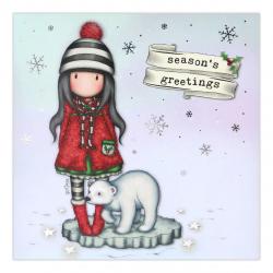 Felicitare Gorjuss - Season's Greetings tema de iarna