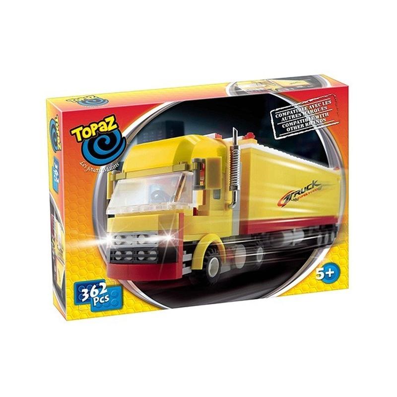 TIR-362 piese Topaz compatibile cu Lego, Cobi