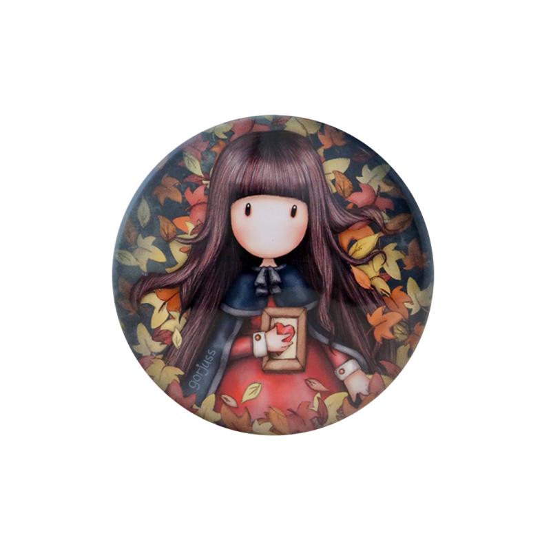 Cutiuta metalica imprimata Gorjuss Autumn Leaves