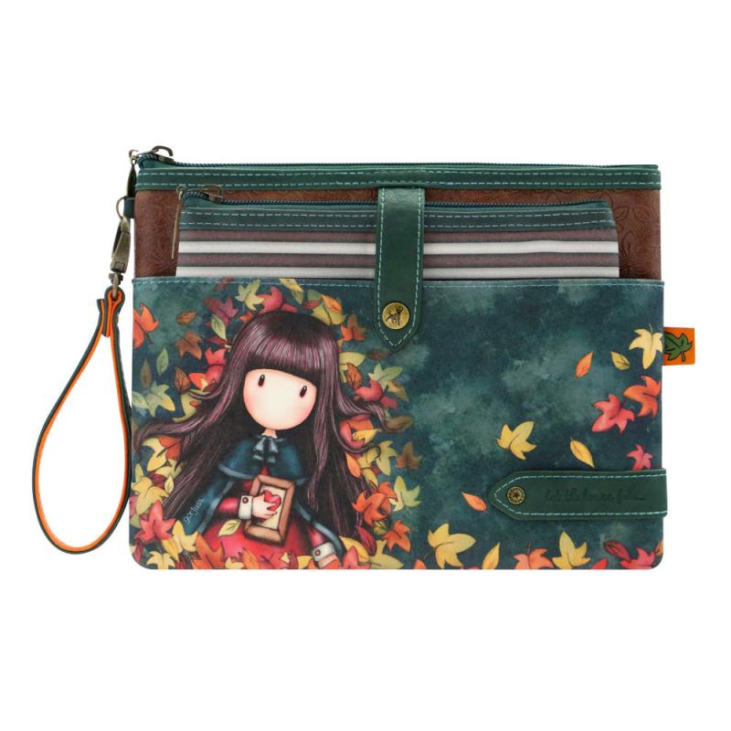 Pouch accesorii mare Gorjuss Autumn Leaves
