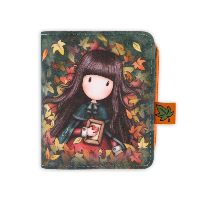 Portofel mic Gorjuss Autumn Leaves