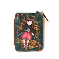 Portofel mic Gorjuss Autumn Leaves buzunar