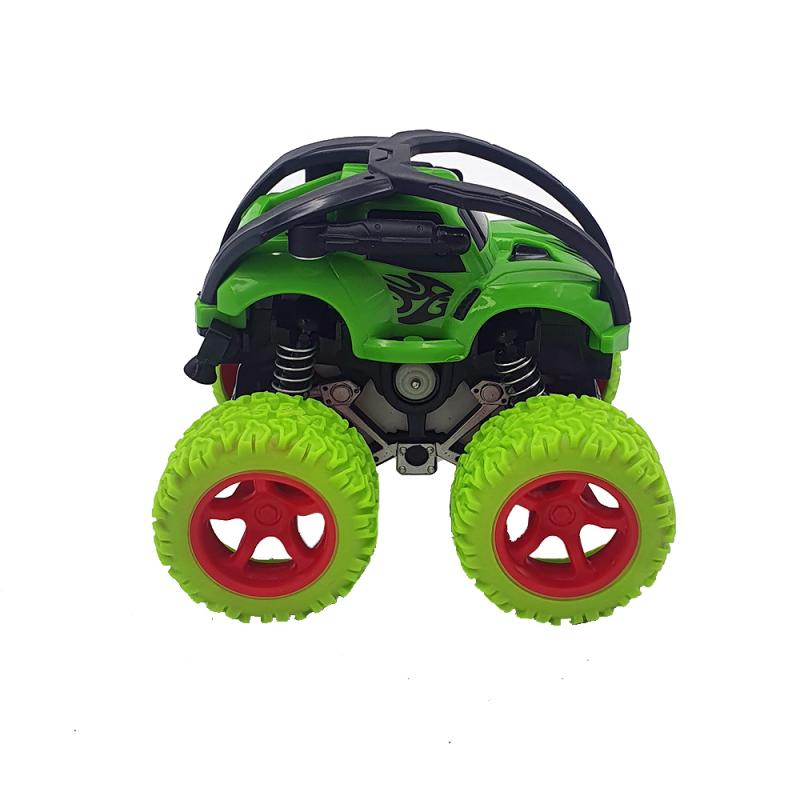 Masinuta Monster Bigfoot 360 grade verde   jadflamande.ro