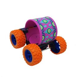 Jucarie Skateboard flexibil cu roti portocalii