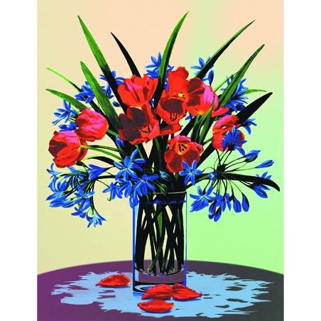 Canvas pictura pe nr.23x31x25 -stil floral