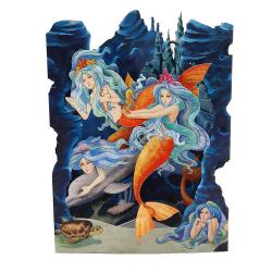 Felicitare 3D Swing Cards – Sirene