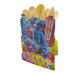 Felicitare 3D Swing Cards - Roata