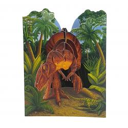 Felicitare 3D Swing Cards - Dinozaur