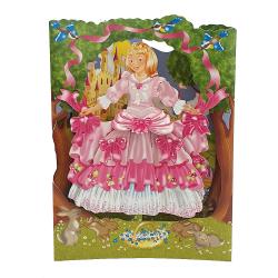 Felicitarea 3D Swing Cards – Printesa