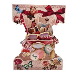 Felicitare 3D Swing Cards – Visul oricarei femei
