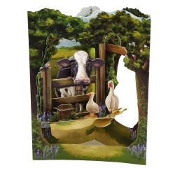 Felicitare 3D Swing Cards - Zona rurala