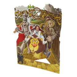 Felicitare 3D Swing Cards - Vrajitorul din Oz