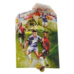 Felicitare 3D Swing Cards - Fotbal