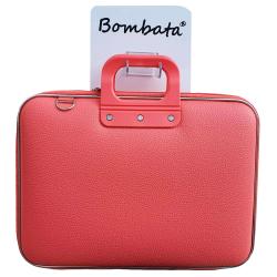 Geanta lux business laptop 13 Bombata Medio Classic-Coral