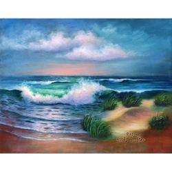 Canvas master 11X14 ACRYLIC Plaja HAMPTON