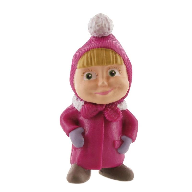 Figurina-Masha & The Bear-Masha winter