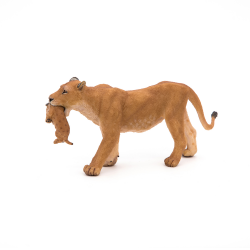 Leoaica cu pui - Figurina Papo lateral