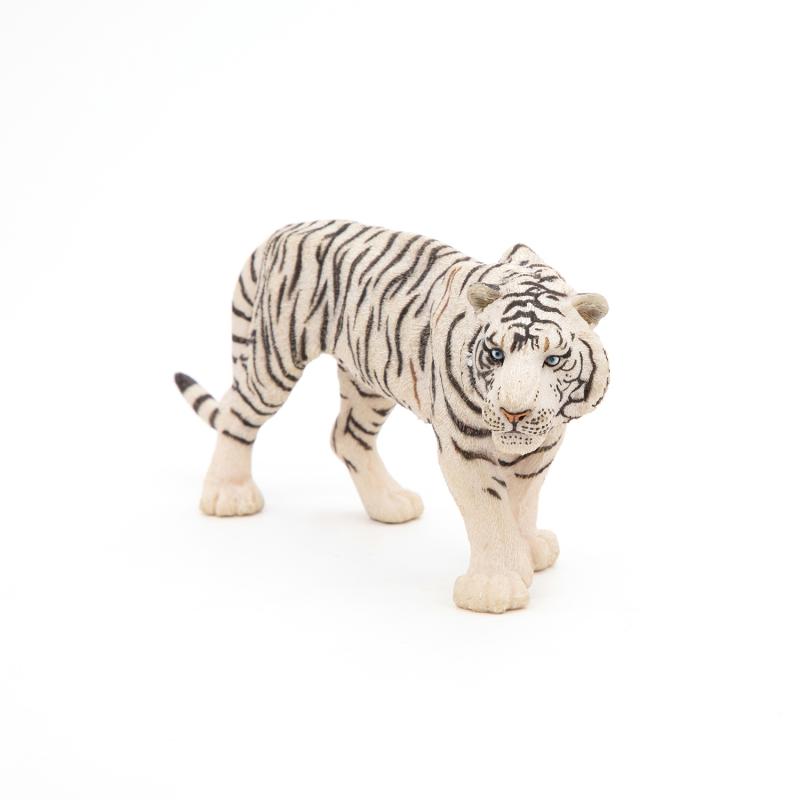 Figurina Papo Tigru alb fata