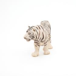 Figurina Papo Tigru alb profil