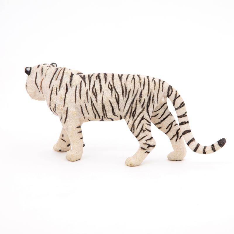 Figurina Papo Tigru alb pentru copii
