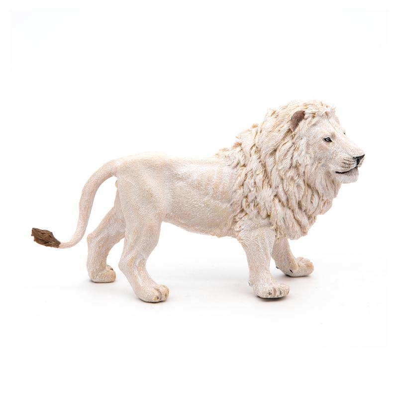 Figurina Papo - Leu Alb jad flamande