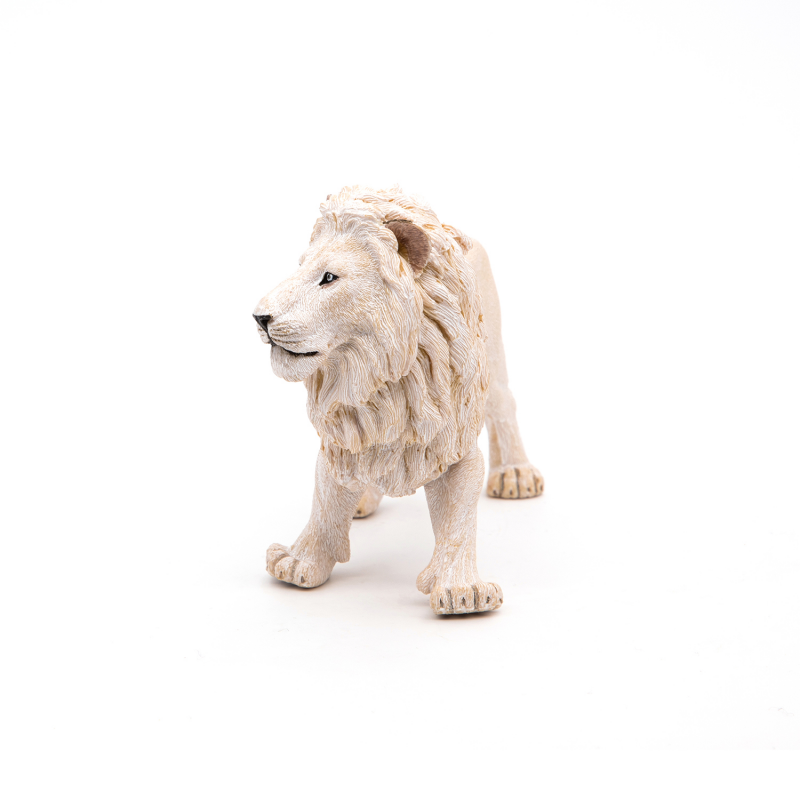 Figurina Leu Alb
