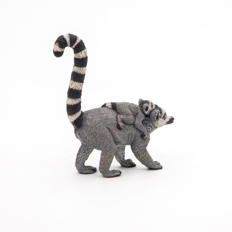 Lemur cu pui - Figurina Papo importator