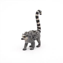 Lemur cu pui - Figurina Papo