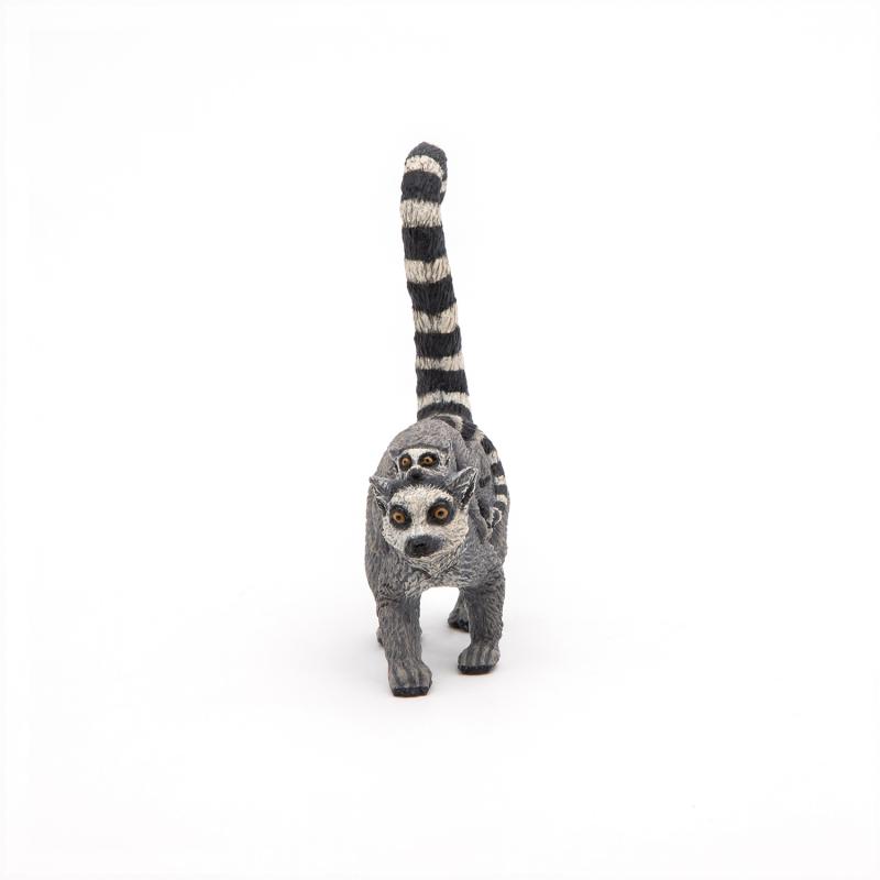 Lemur cu pui - Figurina Papo jad flamande