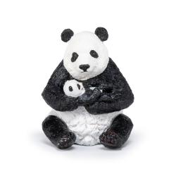 Figurina Papo-Panda cu pui