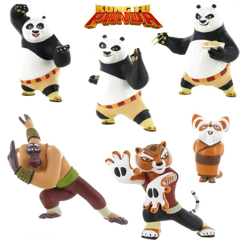 Set figurine Kung Fu Panda