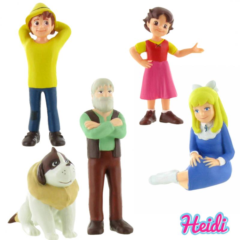 Set figurine Heidi