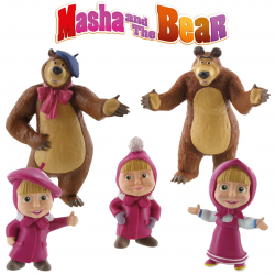 Set figurine Masha