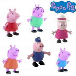 Peppa Pig si familia ei