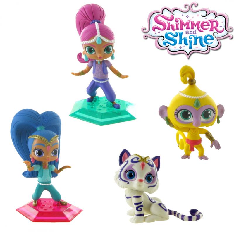 Set figurine Shimmer & Shine