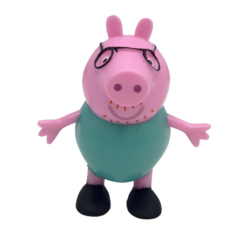 Figurina Comansi - Peppa Pig - Tata Peppa Pig