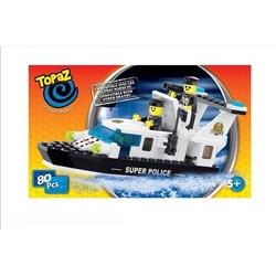 Set de construit-Barca rapida-80 piese