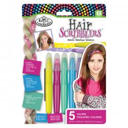 creioane colorate metalizate pentru vopsit parul copii